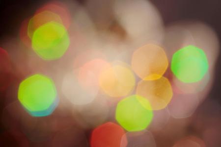 Abstract bokeh backlight background. 免版税图像