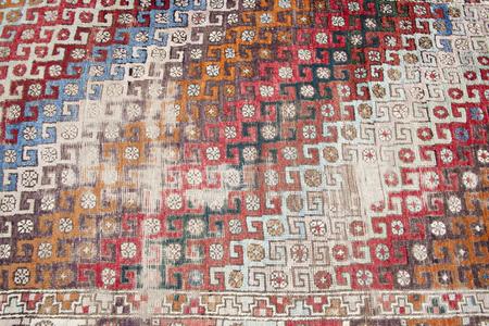 Handmade Old Ancient Turkish Carpet