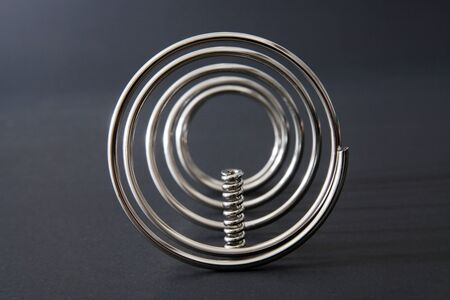 new metal springs texture background