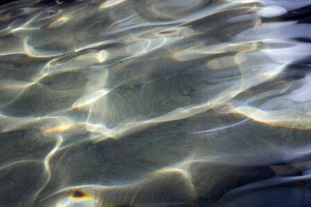 Schwimmbad Wellenmuster Hintergrund Standard-Bild