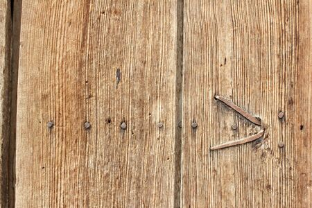 Brown Wooden Planks Abstract  Background 免版税图像