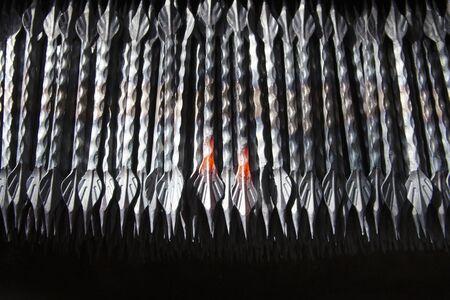 metals processed in a blacksmith shop