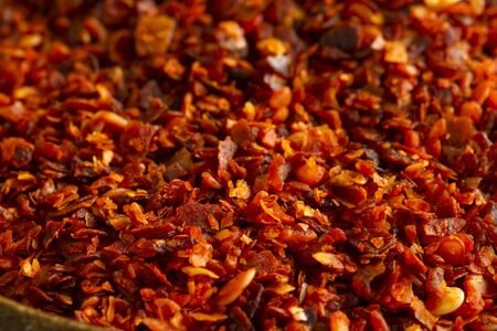 Spices: Dried ground red pepper