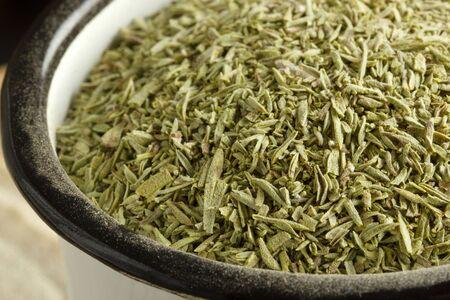 scented and fresh thyme leaves  版權商用圖片