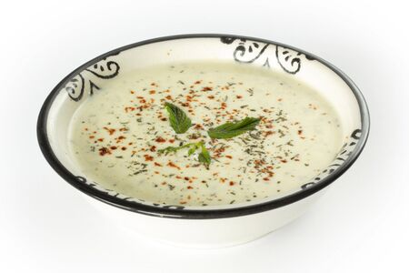 Yogurt (Yayla) Corbasi Turkish Soup