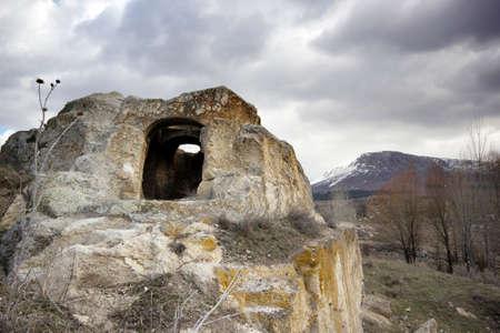 cave chapel in Turkey (Konya city) Banque d'images