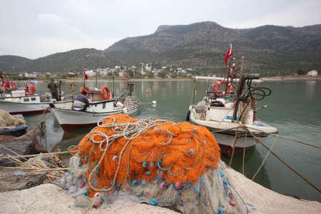 fishing boats on the sea shore