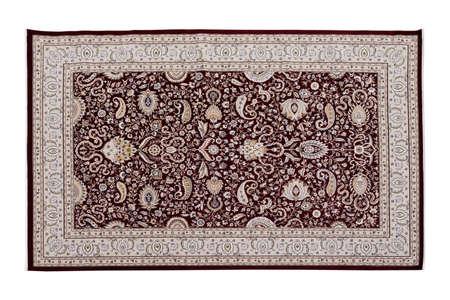 Traditional wool Turkish rug. Handmade and decorative.