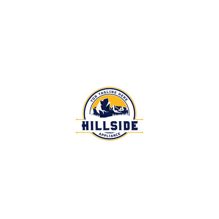 Mountain Hillside Logo Design