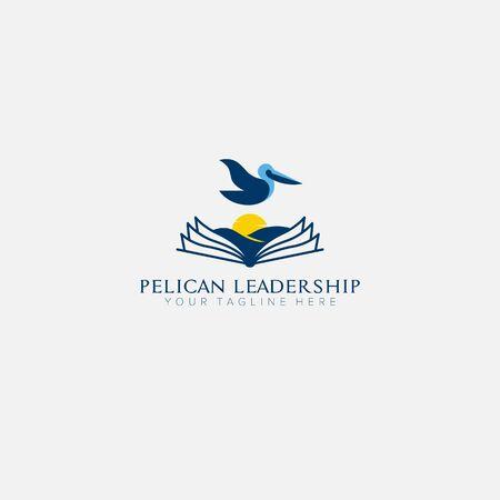 pelican institute and leadership for logo design