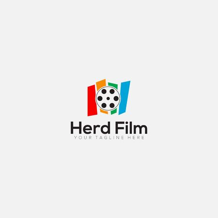 abstract film productions logo designs and modern logo