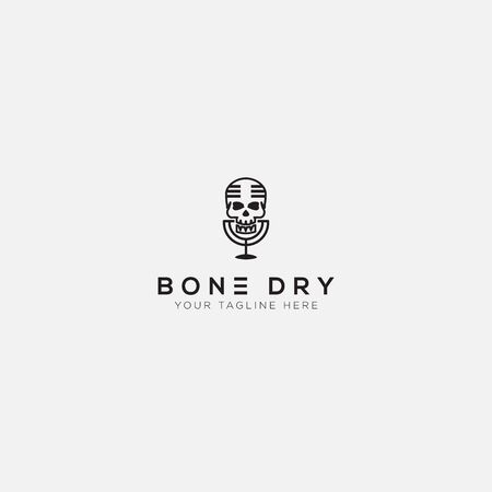 bone day logo with podcast and bone