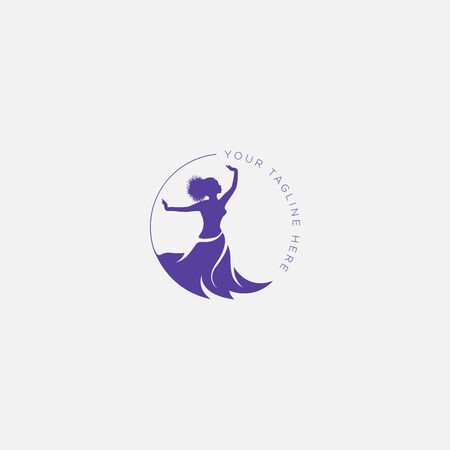 active woman and energetic woman logo