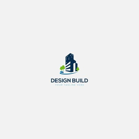 building and swimming pool constructions logo