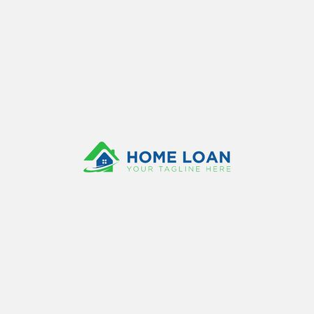 modern and Home Loan Logo designs