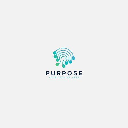 purpose mind and dna logo designs