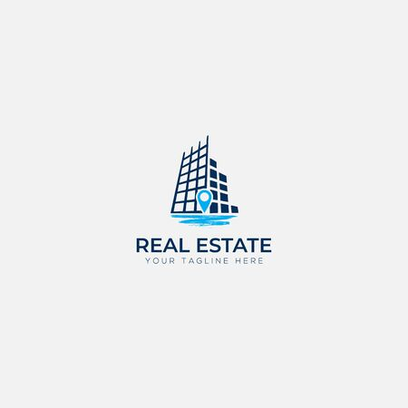 Real estate and river logo deigns Çizim