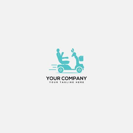 scooter motor logo, dealer scooter, retail scooter logo