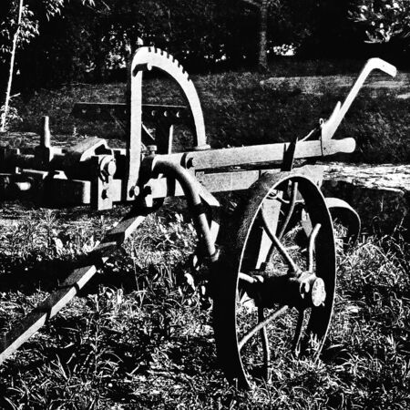 Agricultural tools photography