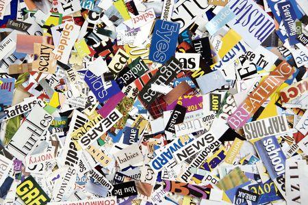 Magazine Word Background Stock Photo - 3190022