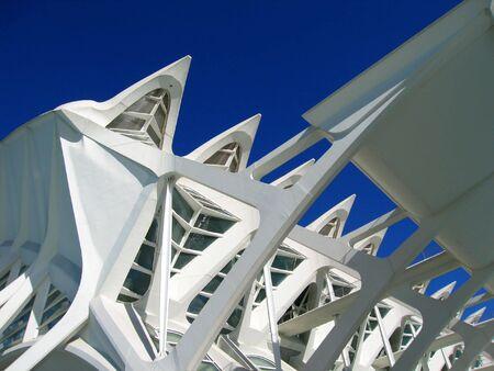 Modern Science Center in Valencia, Spain