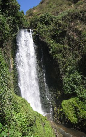 Waterfall near Otavalo, Ecuador Stock Photo - 3466694