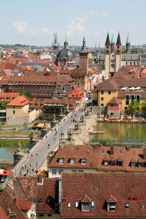 bayern old town: Wurzburg, Germany