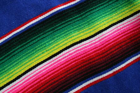 Colorful Mexican Serapes Stock Photo