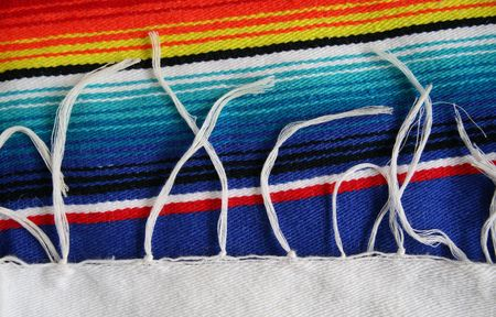 Mexican Serapes: Detail