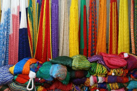 artisanry: Colorful Mexican Hammocks
