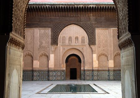 marrakesh: Ali Ben Youssef madrasse a Marrakech, Marocco