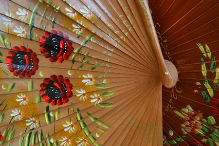 Beautiful Shiny Wooden Spanish fans for sale in Sevilla, Spain