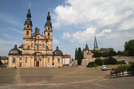 Cathedral in Fulda, Germany Stock Photo