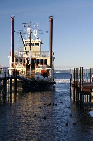 Steamboat at Lake Tahoe in Winter