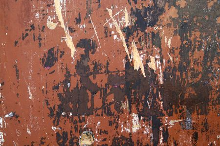 Aged and worn painted wood wall background