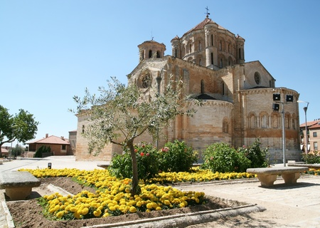 Romanesque Cathedral in the town of Toro, Spain Banco de Imagens
