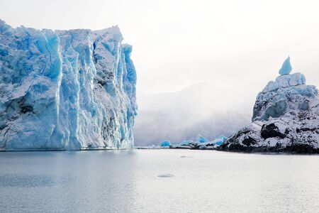 Perito Moreno Glacier in Patagonia, Argentina during winter Stock Photo - 17338409