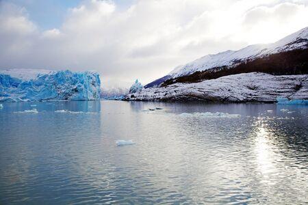 Perito Moreno Glacier in Patagonia, Argentina during winter Stock Photo - 17433613
