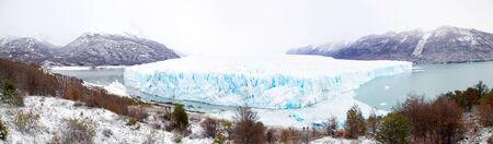 Perito Moreno Glacier in Patagonia, Argentina during winter Stock Photo - 17433622