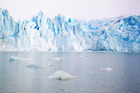 Perito Moreno Glacier in Argentina in Winter