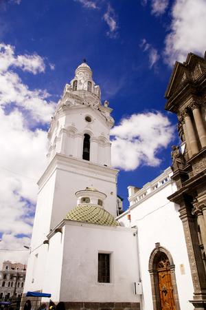 ecuadorian: Church of Santo Domingo in Quito, Ecuador Stock Photo