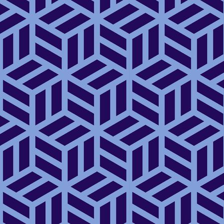 Simple abstract cube shape, repeated pattern for poster, banner and brochure.