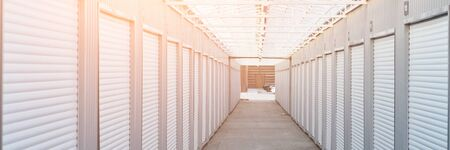 warehouse for storing personal belongings. garages parking for motorcycles.