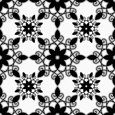 orient: armenian seamless pattern. orient flower. illustration