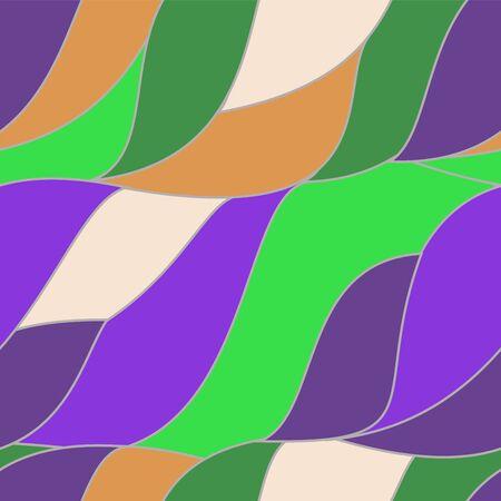 seamless wave pattern waves background. wallpaper design. vector Vector