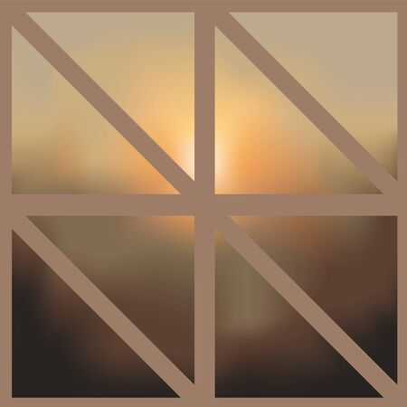 patchwork: blurred background. patchwork