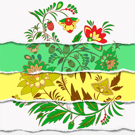 slavs: russain floral pattern