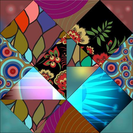 slavs: seamless russian pattern Illustration