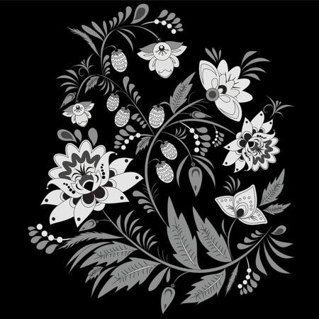 slavs: traditional slavs pattern. vector illustration Illustration