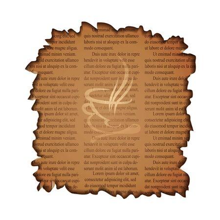 newspaper texture: newspaper texture Illustration